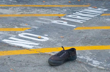Sneaker No Parking San Francisco 9/19/2016 by squirrelbrained