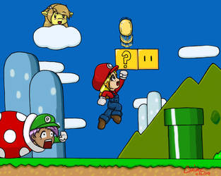 Mario Bros Cos-Play by canime