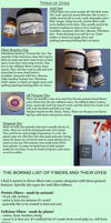 Fabric Dye Introduction Part 2 by MagpieLaughs