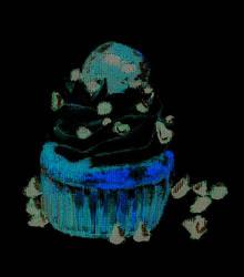 Chocolate Cupcake negative effect by vampirekiki