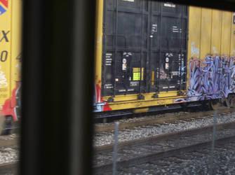 train graff by RazielWatcherX