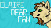 Clarie Bear Fan Stamp .:CM:. by Knack-Mix