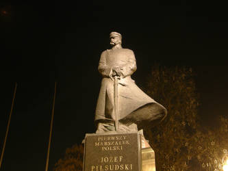 Joseph Pilsudzki at night 01 by DreamingRabit