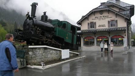 Chamonix - the old locomotive by DreamingRabit