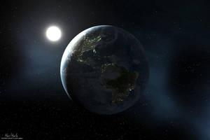 Sleeping Earth by Kjasi