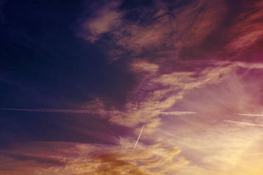 The Evening Sky by Thy-Darkest-Hour