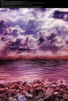 Purple on the Rocks - Stock by Thy-Darkest-Hour