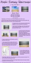 Easy Premade Waterscape BG by Thy-Darkest-Hour