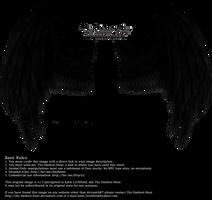 Winged Fantasy - Black by Thy-Darkest-Hour