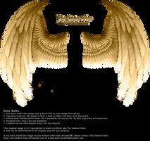 Winged Fantasy - Golden by Thy-Darkest-Hour