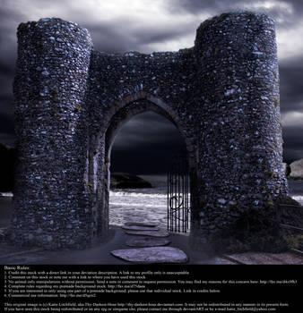 Castle Gates - Stock by Thy-Darkest-Hour