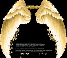 Arch Angel Wings - Golden by Thy-Darkest-Hour
