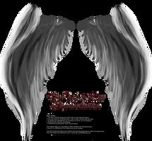 My Soul to Keep Wings - Silver (Free) by Thy-Darkest-Hour