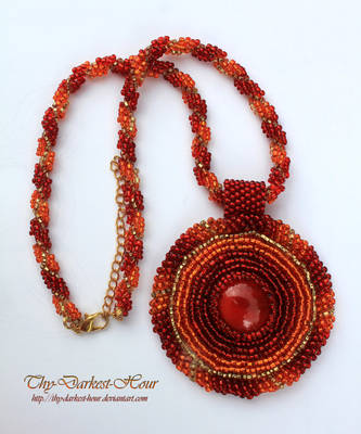 Fire Pendant by Thy-Darkest-Hour
