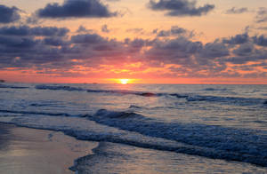 Atlantic Sunrise 01 by Thy-Darkest-Hour