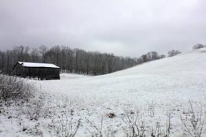 The farmstead - Winter Wonderland by Thy-Darkest-Hour