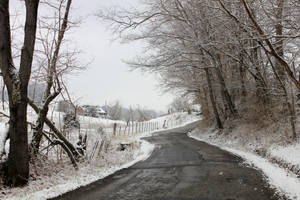 The Road - Winter by Thy-Darkest-Hour