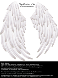 Solace Wings - White by Thy-Darkest-Hour