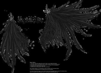 Wicked Wings - Black by Thy-Darkest-Hour