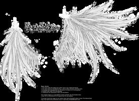 Wicked Wings - White by Thy-Darkest-Hour