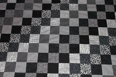 Black and White Quilt by Thy-Darkest-Hour