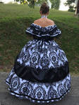 Civil War Ballgown - Stock 02 by Thy-Darkest-Hour