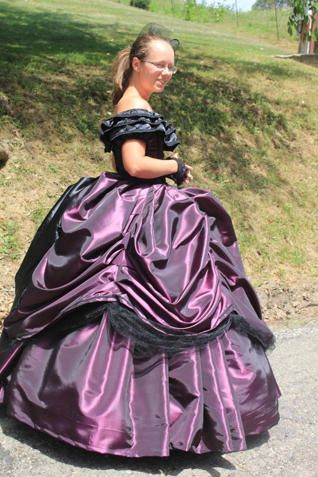 Civil War Ballgown 2017 - 2 by Thy-Darkest-Hour