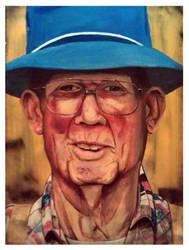 Old Man Blue by kirkfinger