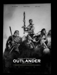 OUTLANDER Poster Sketch by layaarts
