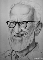 Dr. Salim Ali by layaarts