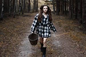 run, forest, run by LayaliKhan