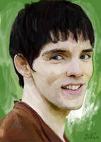 Merlin by Goldfhie