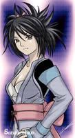 FanArt Sheena Fujibayashi by Sorina-chan