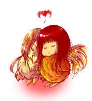 Love - Piou ? by Sorina-chan