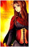 FanArt Odessa Silverberg by Sorina-chan