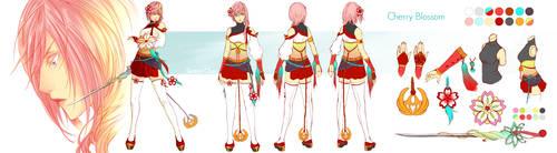 Lightning Returns - Cherry Blossom Design by Sorina-chan