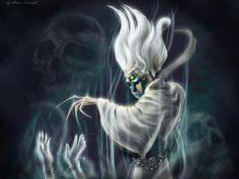 Heroes 5 - Necromancer by AlbinaDiamond