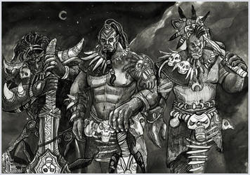 Guardians of peace by AlbinaDiamond