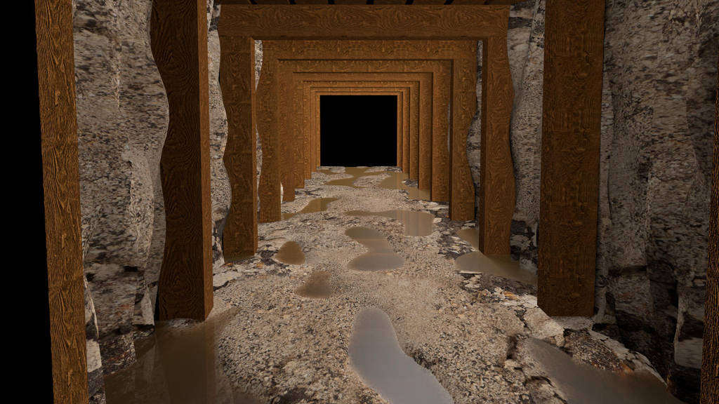 UnfinisedTunnel0001 by Acesonnall