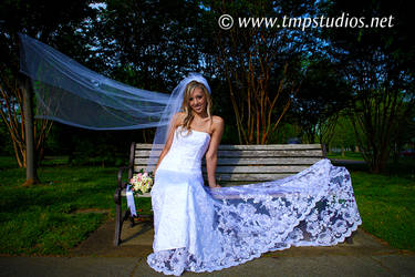 Bench Bride by ThomasMcKownPhoto