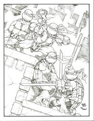 TMNT Cover Remake by sketchheavy