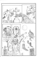 Hellboy pg 3 revised by sketchheavy