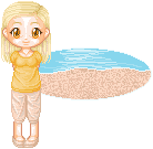 On the beach :D by Gittiej
