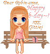 Happy B-day Robin-anne by Gittiej