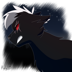 Shadownight (Commission) by FirestarandScourgeXD