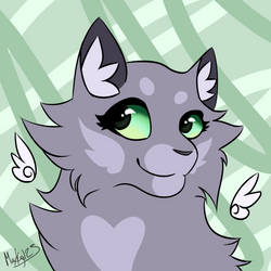 green eyes by FirestarandScourgeXD