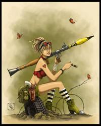 Rocket Girl by Duffield03