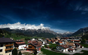 Foot of the Mountains by myINQI
