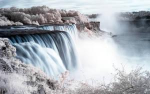 Niagara Falls 2560 Wallpaper by myINQI