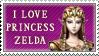I love Zelda - Stamp by joiski